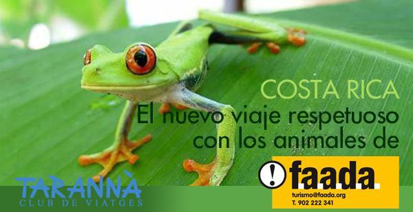 Conoce Costa Rica de la mano de FAADA y Tarannà