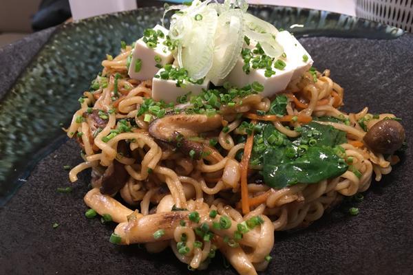 #LunesSinCarne: Yakisoba con verduras