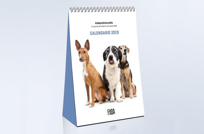 Calendario 2019 #AdoptaUnInvisible