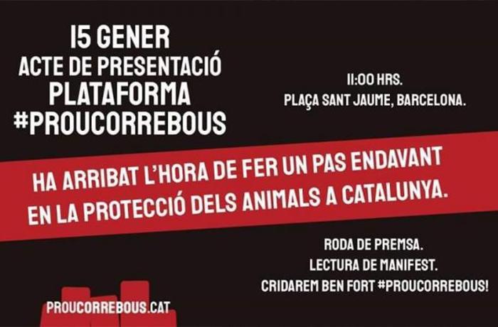 ¡Te necesitamos! Ven a la presentación de la plataforma #ProuCorrebous