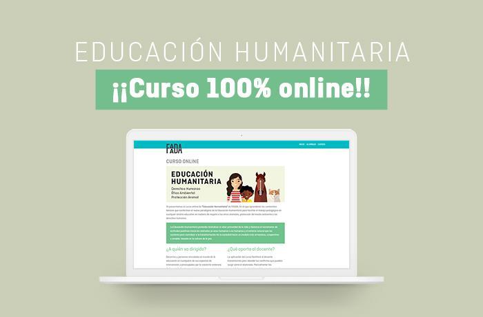 ¡Presentamos el 1er curso online de Educación Humanitaria!