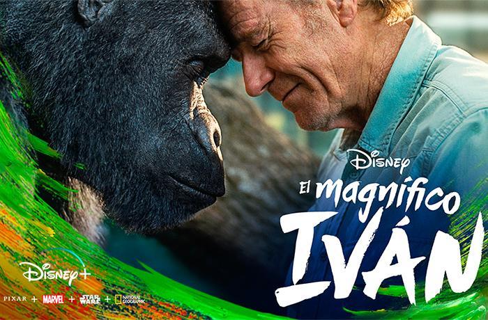 El Magnifico Iván: nueva película Disney libre de explotación animal