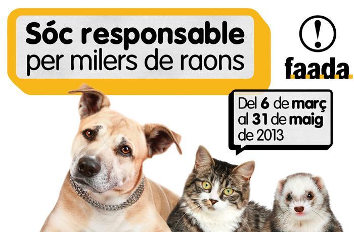 Lanzamos la iniciativa de tenencia responsable de animales de compañía