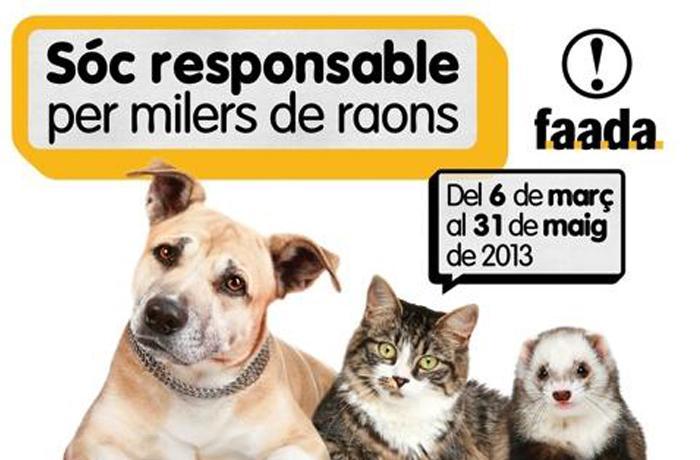 """La campaña """"Sóc Responsable per Milers de Raons"""" de FAADA finaliza con 5.717 esterilizaciones y 3.319 identificaciones"""
