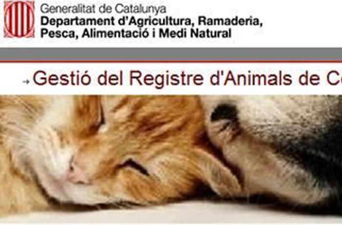 Entra en funcionamiento el nuevo Registro General de Animales de Compañía (ANICOM)
