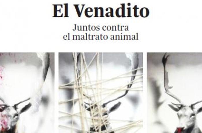 Vuelve la exposición 'El Venadito', que reúne a 40 artistas contra el maltrato animal