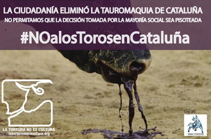 Estupor por cuestionarse la prohibición de las corridas de toros en Cataluña