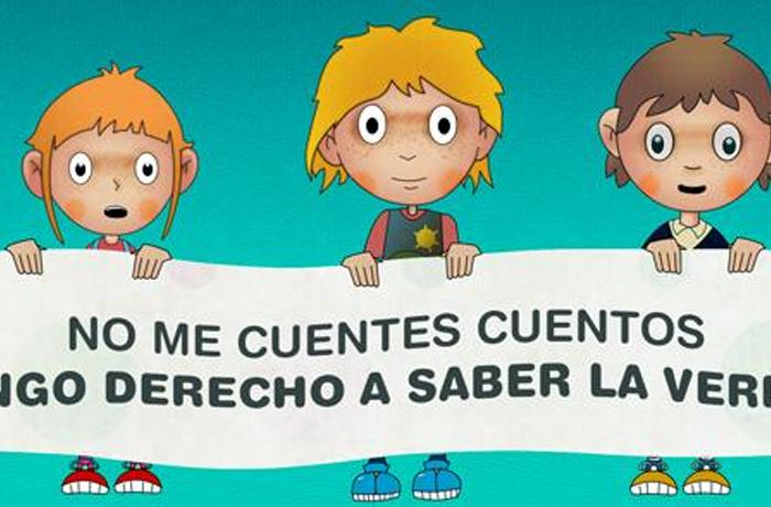 SOSdelfines quiere contar la verdad a los niños