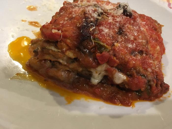 #LunesSinCarne: Berenjena al parmesano vegano