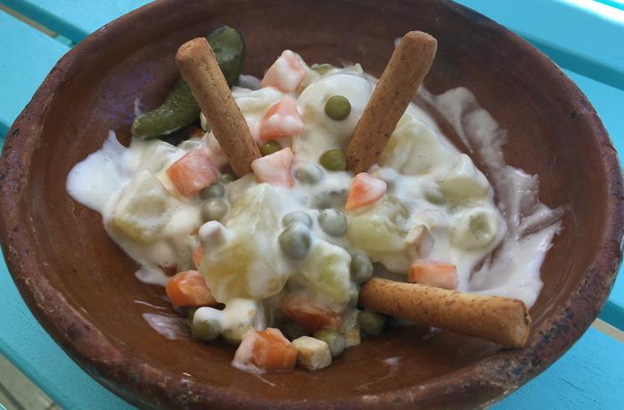 #LunesSinCarne: Ensaladilla rusa con tofu y algas