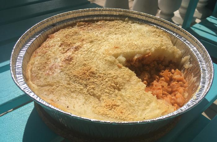 #LunesSinCarne: Pastel de carne vegetal