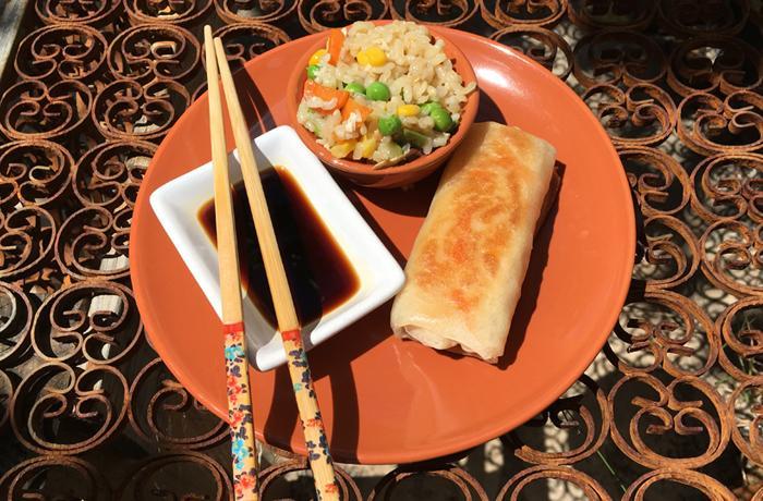 #LunesSinCarne: Arroz frito chino
