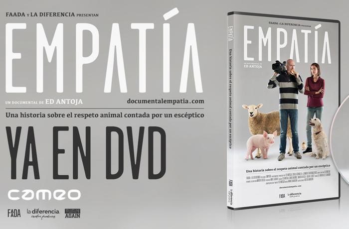 ¡Empatía ya a la venta en DVD!
