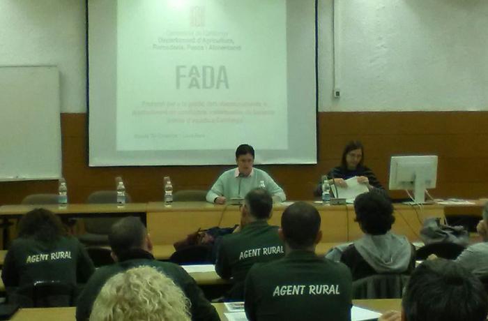 La Generalitat y FAADA elaboran un protocolo para el rescate de équidos