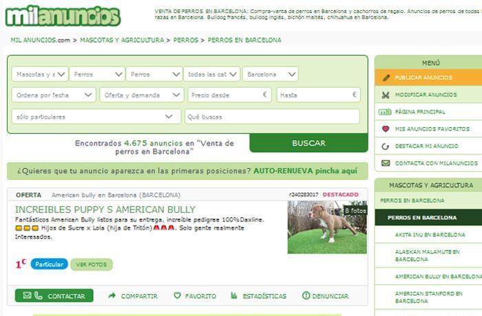 A raíz de la denuncia de FAADA el Ayuntamiento de Barcelona toma medidas legales contra Milanuncios