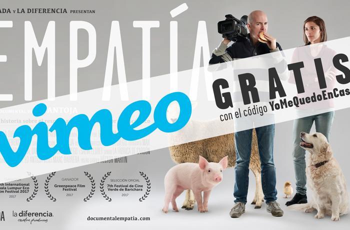 #YoMeQuedoEnCasa: disfruta del documental Empatía GRATIS