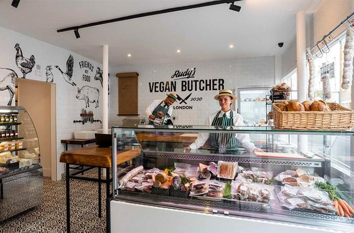 La primera carnicería vegana en Londres lo vende todo en un solo día