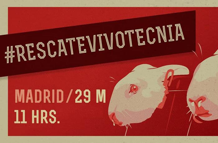 #RescateVivotecnia: gran manifestación en Madrid