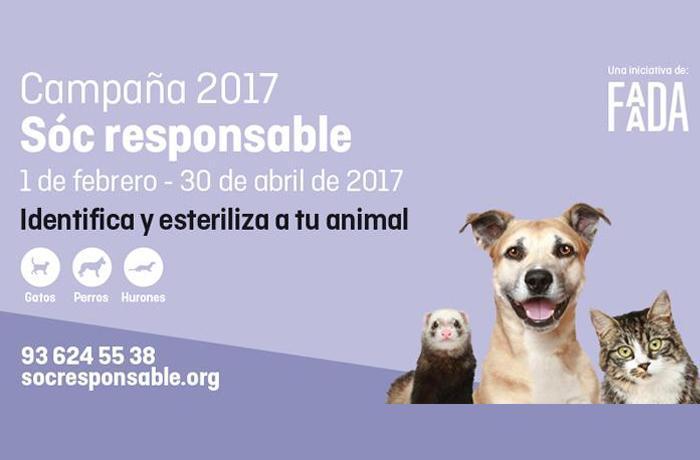 FAADA cierra la campaña de identificación y esterilización 2017 con 9.866 animales inscritos